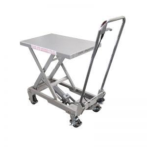 BSA10 Aluminium / manuel sakse rustfrit stål løftebord