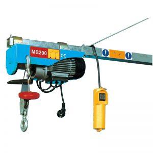 MB200 Mini elektrisk talje, elektrisk løfteløft