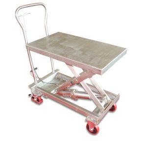 BSS10 løftebord i rustfrit stål